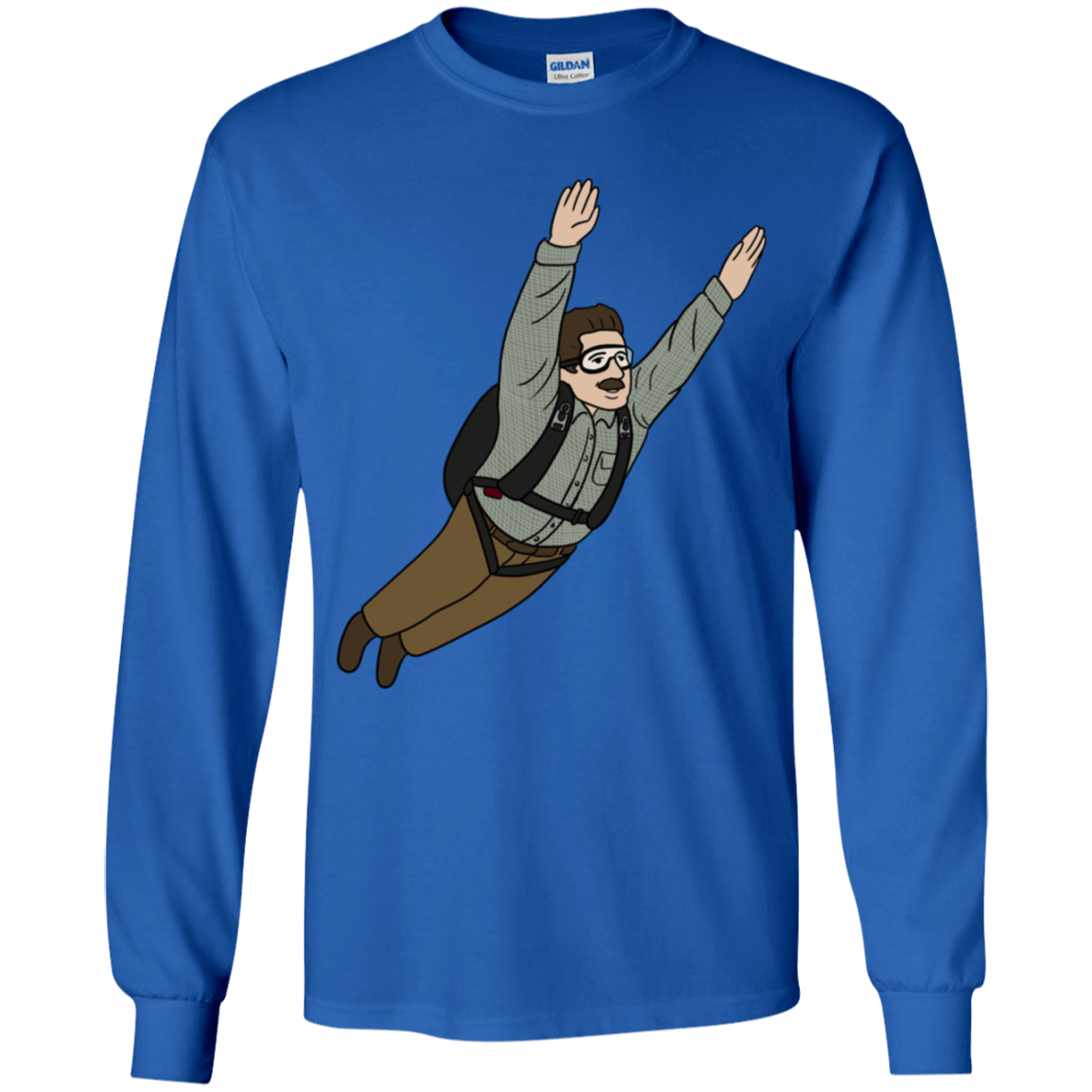 T-Shirts Royal / YS Peter is my Hero Youth Long Sleeve T-Shirt