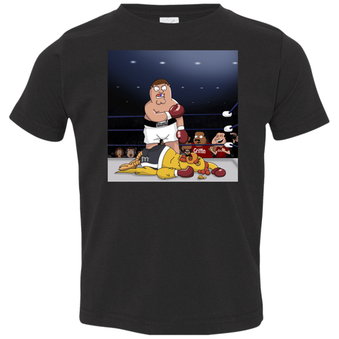 Peter vs Giant Chicken Toddler Premium T-Shirt