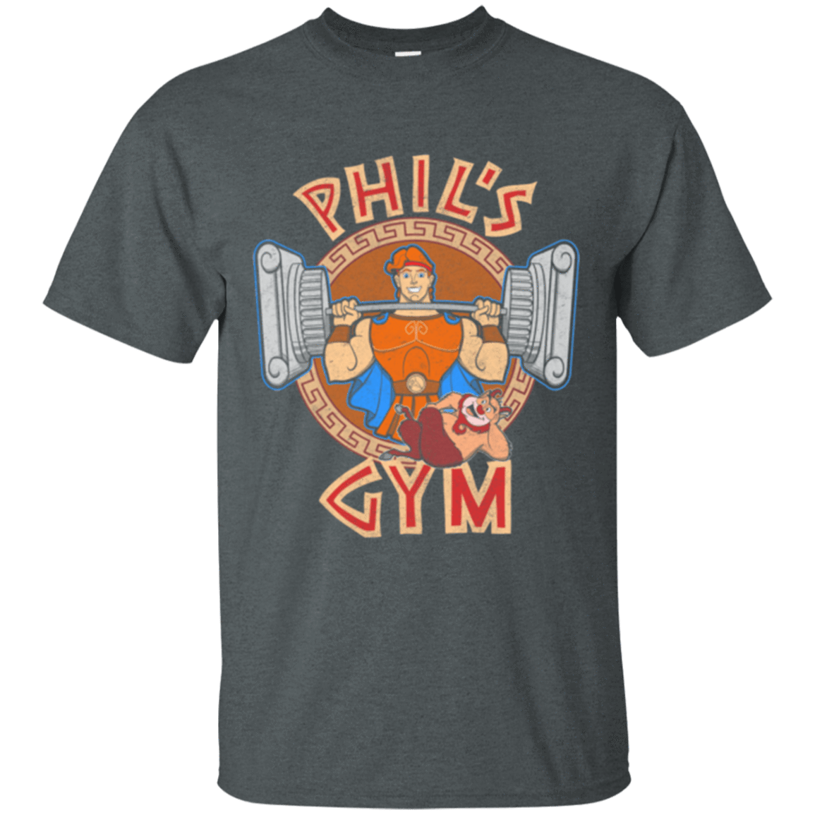 T-Shirts Dark Heather / Small Phil's Gym T-Shirt