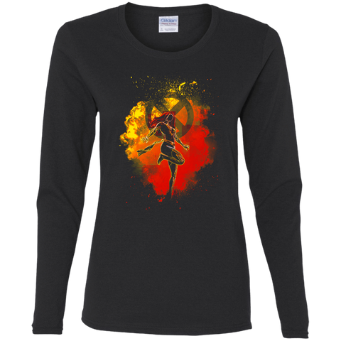T-Shirts Black / S Phoenix Soul Women's Long Sleeve T-Shirt