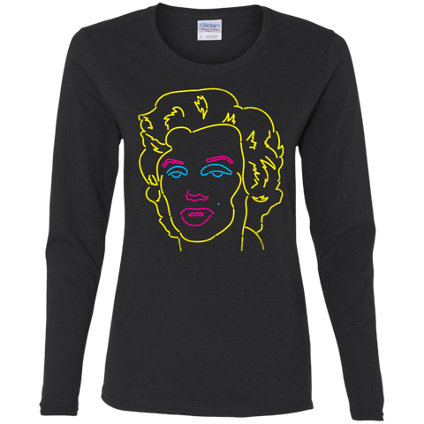 T-Shirts Black / S Popart 67 Women's Long Sleeve T-Shirt