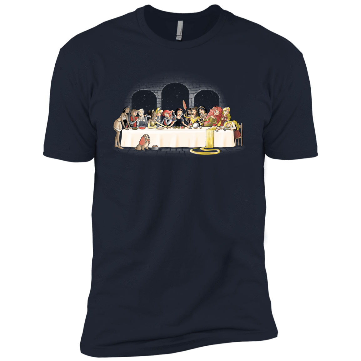 Princess Dinner (2) Boys Premium T-Shirt