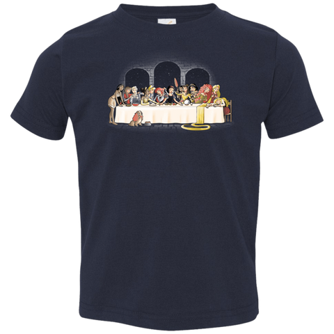 Princess Dinner (2) Toddler Premium T-Shirt