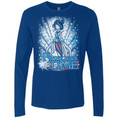 T-Shirts Royal / Small Princess Time Mulan Men's Premium Long Sleeve