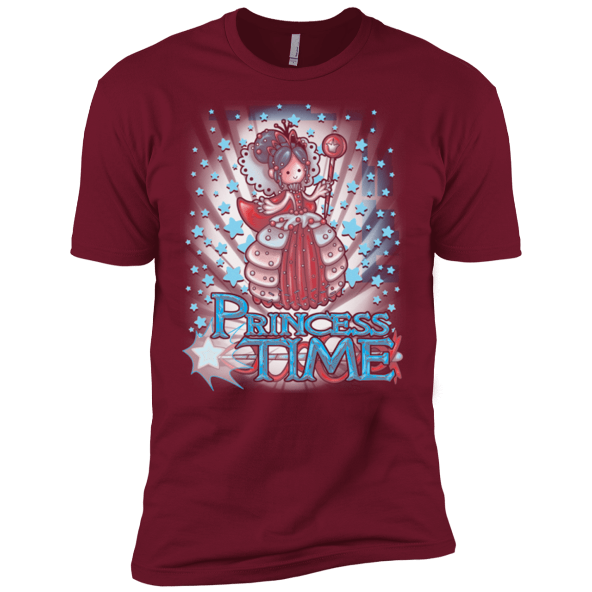 T-Shirts Cardinal / X-Small Princess Time Vanellope Men's Premium T-Shirt