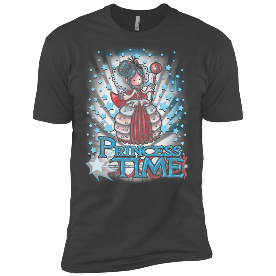 T-Shirts Heavy Metal / X-Small Princess Time Vanellope Men's Premium T-Shirt