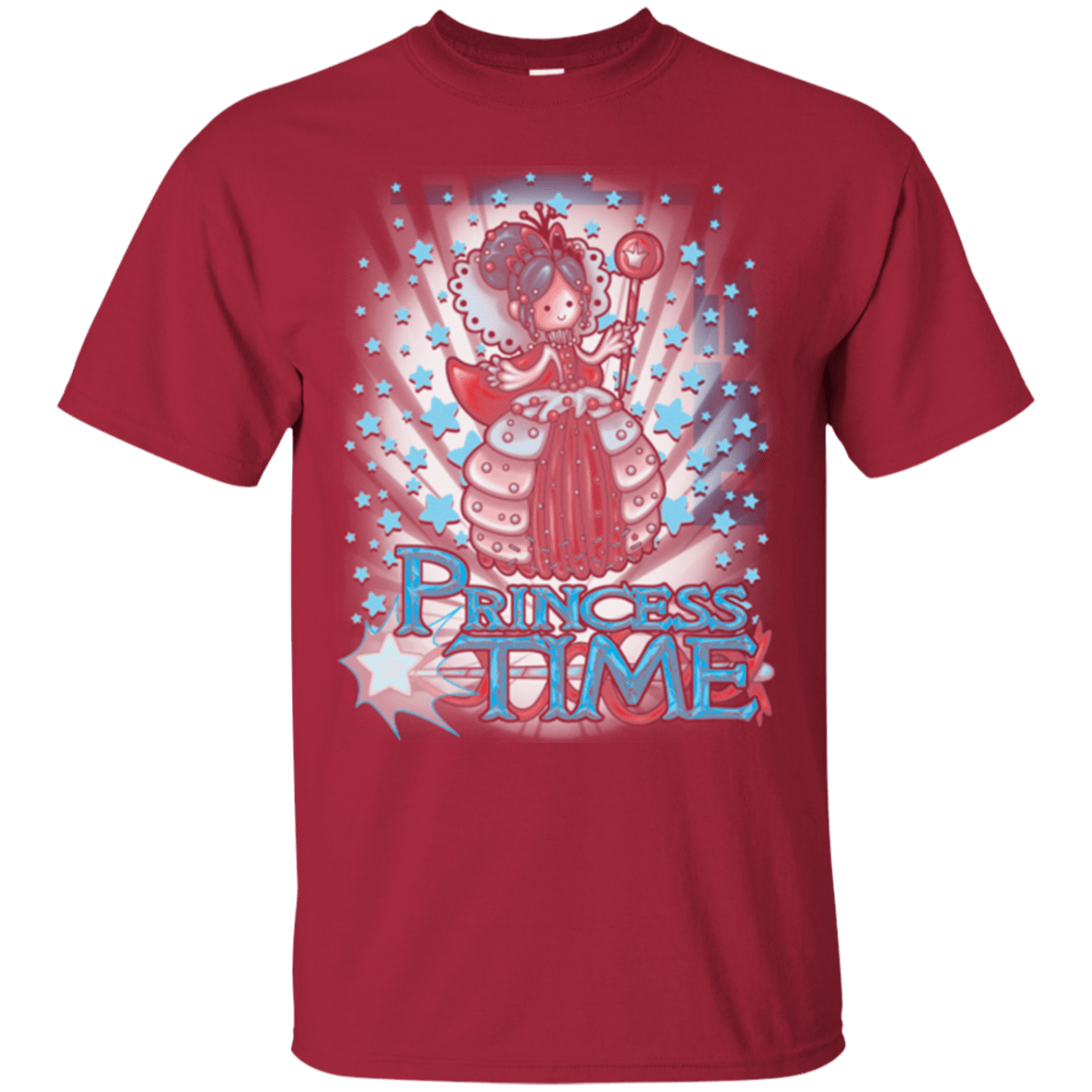 T-Shirts Cardinal / Small Princess Time Vanellope T-Shirt