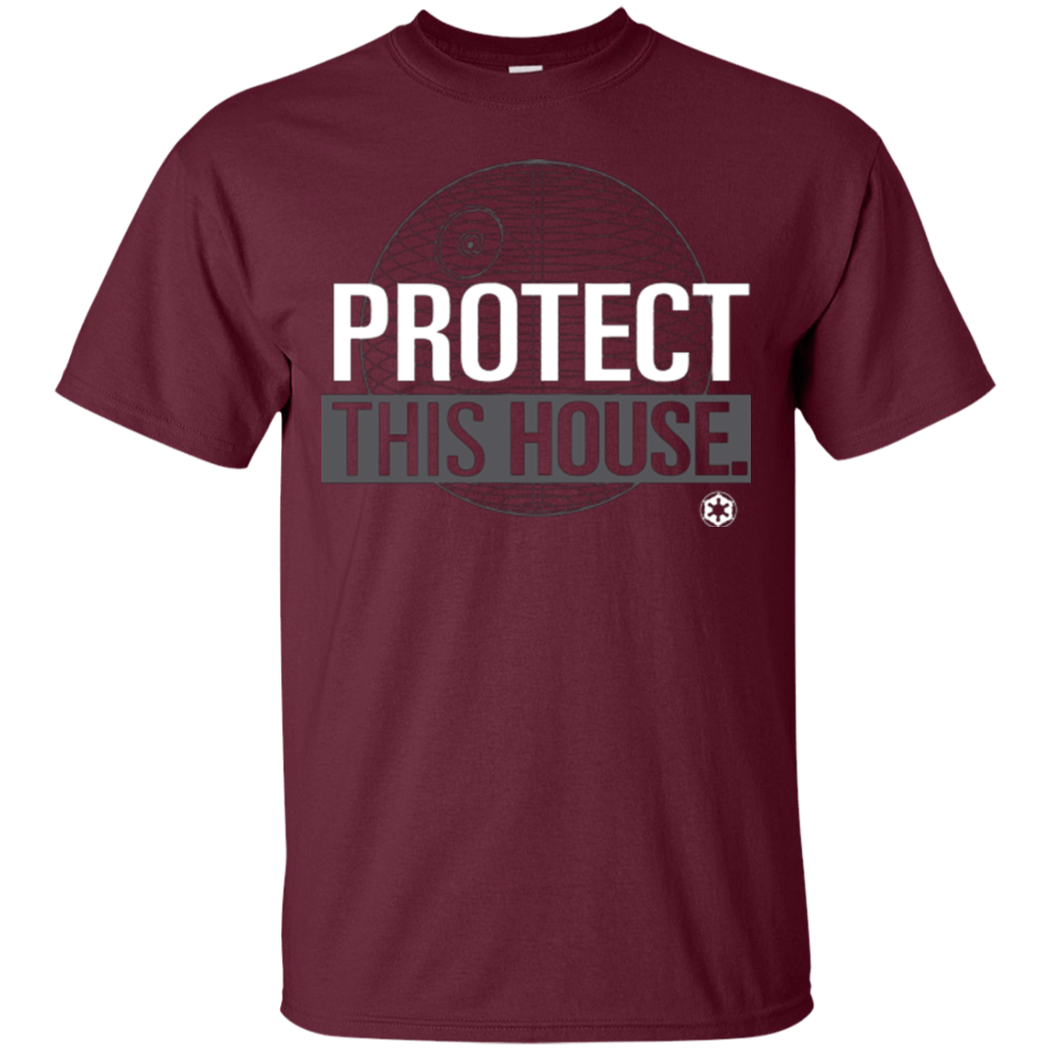 T-Shirts Maroon / Small Protect This House T-Shirt