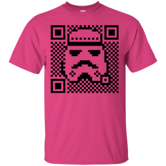 T-Shirts Heliconia / Small QR trooper T-Shirt