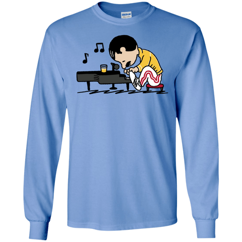 T-Shirts Carolina Blue / S Queenuts Men's Long Sleeve T-Shirt