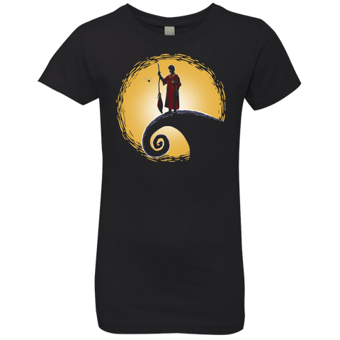 Quidditch before Christmas Girls Premium T-Shirt