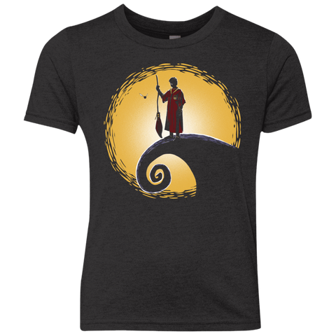 Quidditch before Christmas Youth Triblend T-Shirt