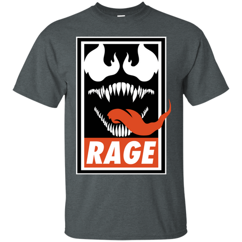 T-Shirts Dark Heather / Small Rage T-Shirt