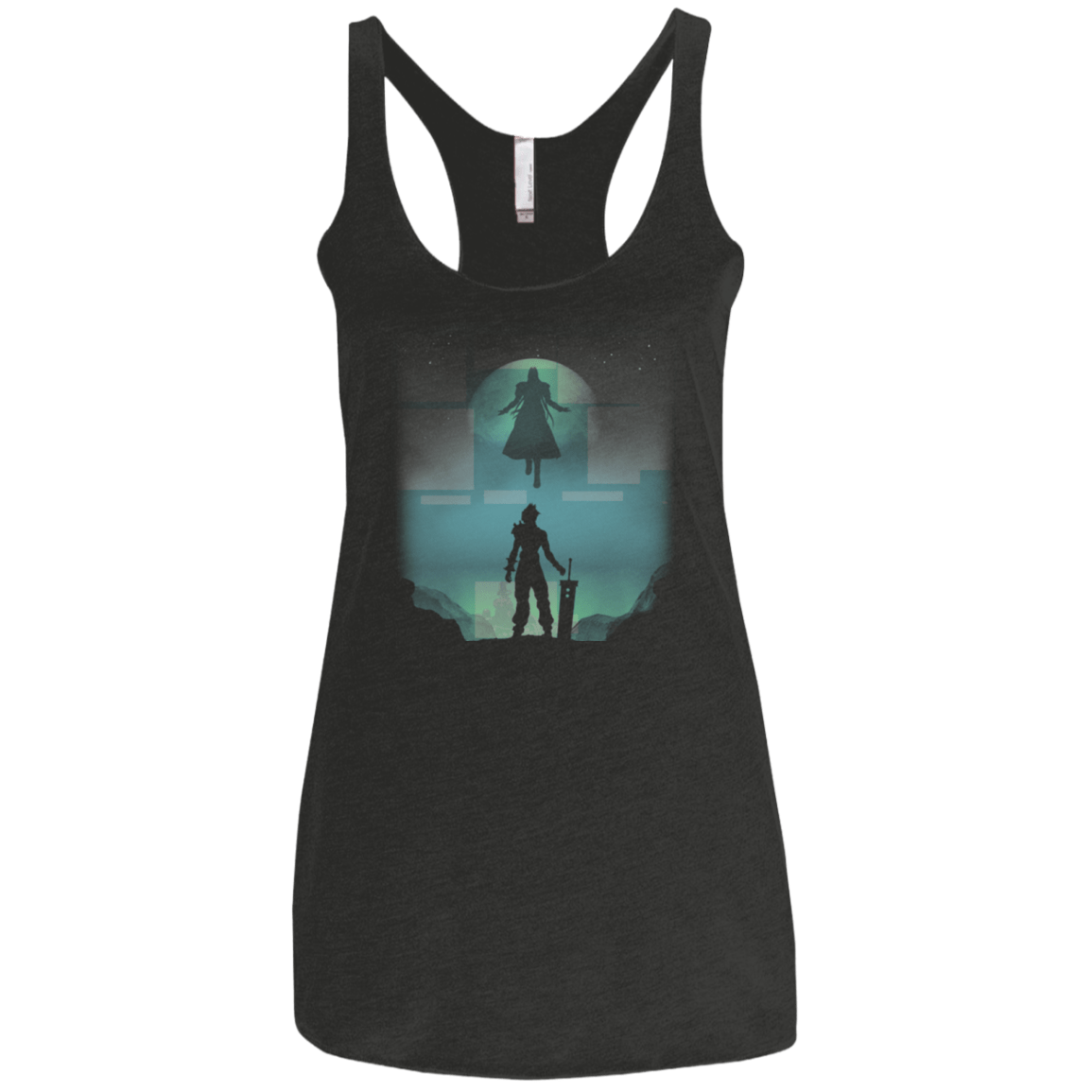Raise your Sword Women's Triblend Racerback Tank