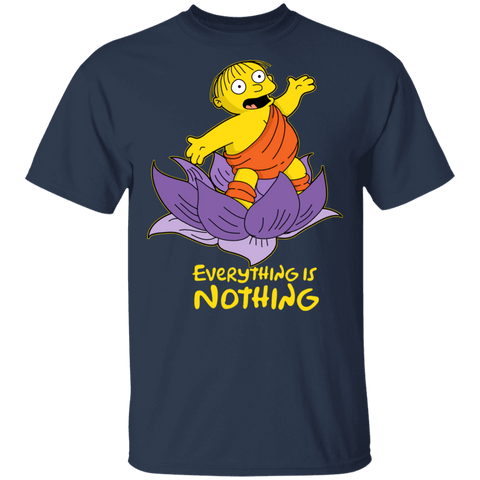 T-Shirts Navy / S Ralph Everything is Nothing T-Shirt