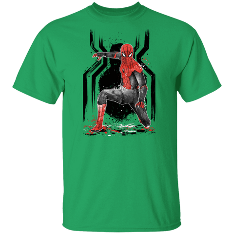 RED-AND-BLACK Spider suit T-Shirt