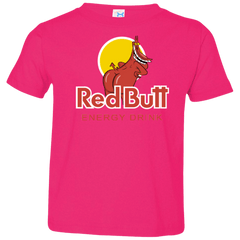 T-Shirts Hot Pink / 2T Red butt Toddler Premium T-Shirt