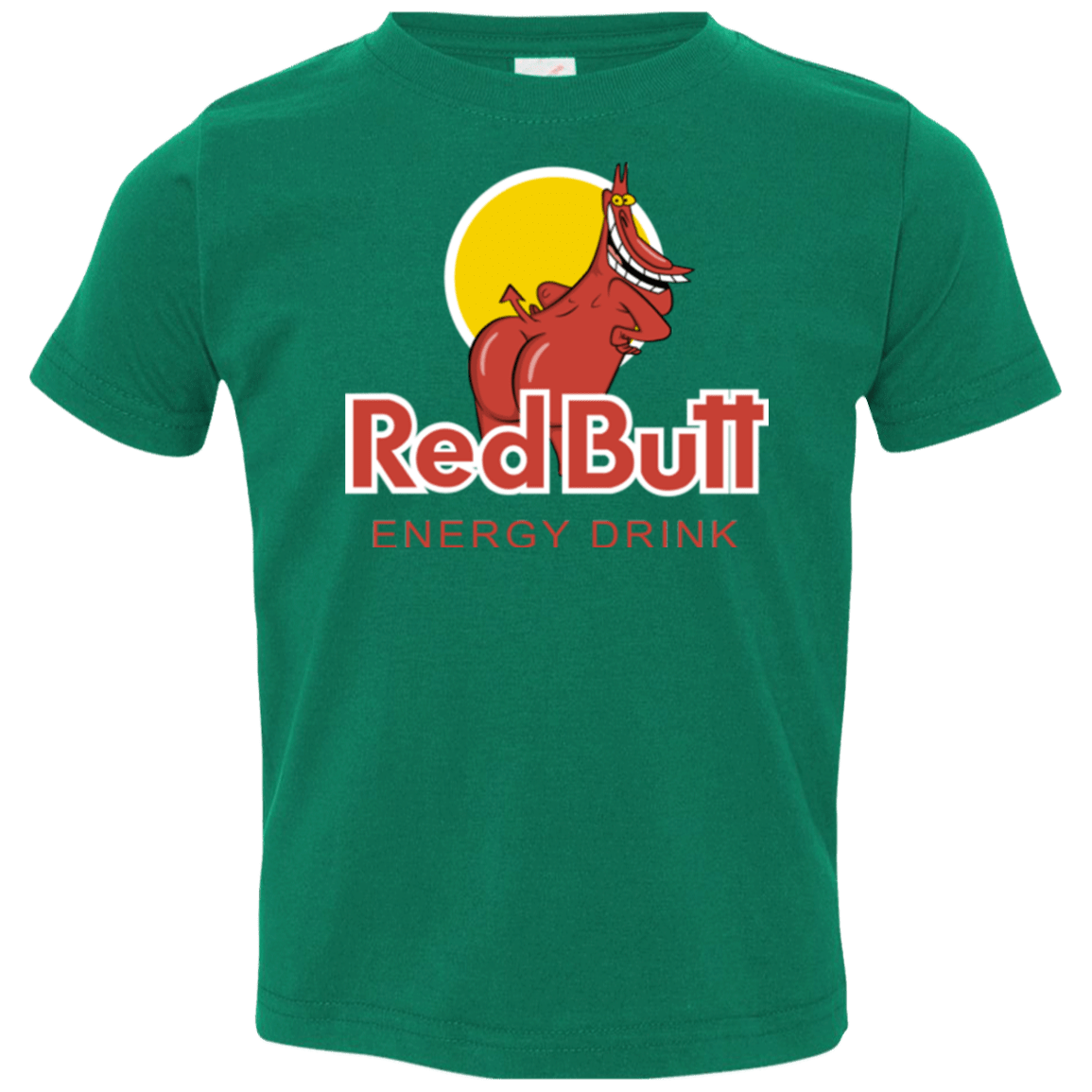 T-Shirts Kelly / 2T Red butt Toddler Premium T-Shirt