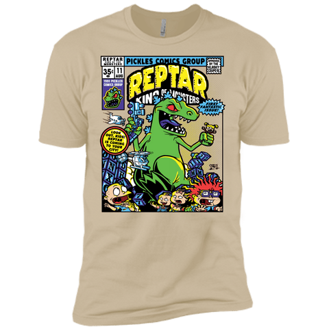 T-Shirts Sand / X-Small REPTAR Men's Premium T-Shirt