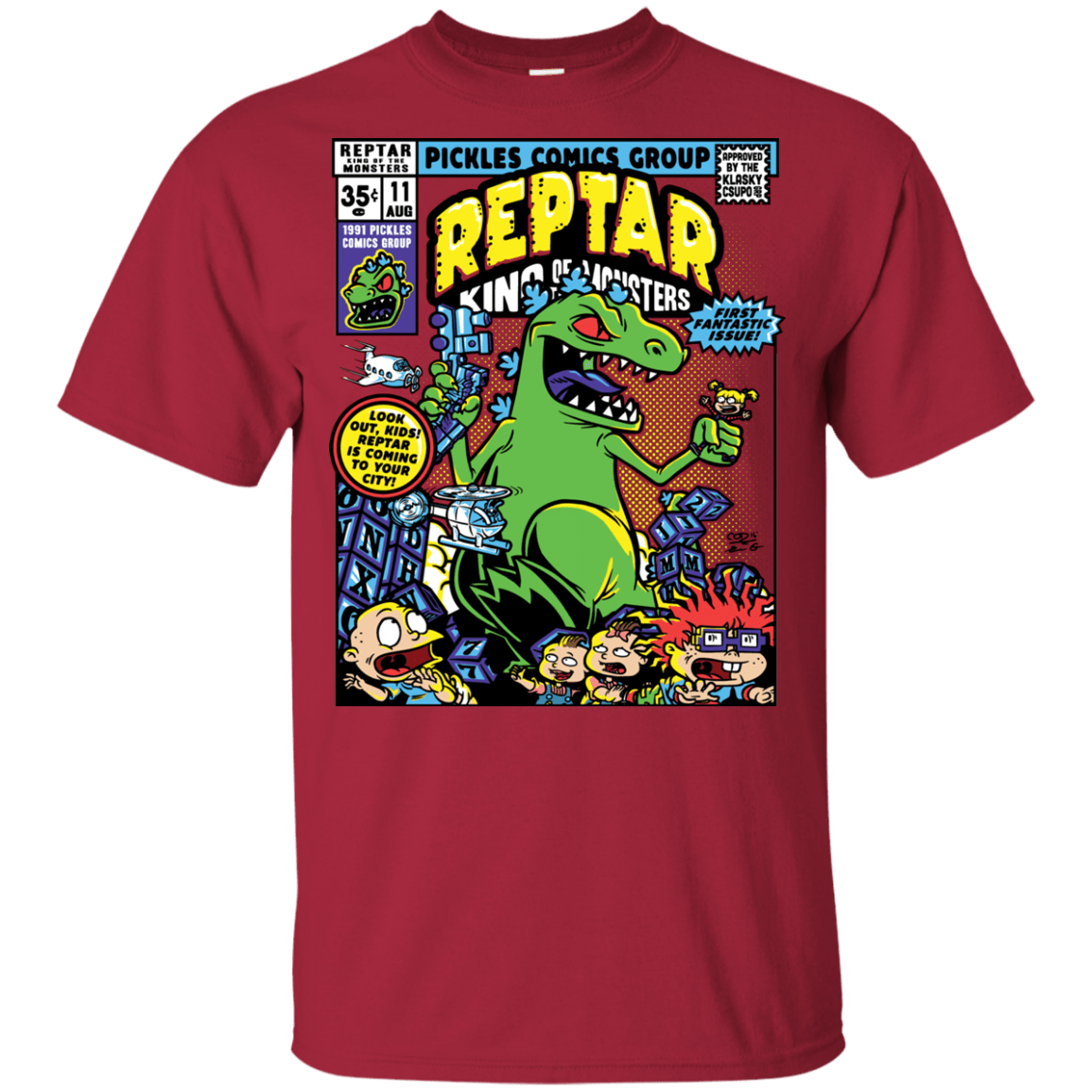 T-Shirts Cardinal / YXS REPTAR Youth T-Shirt