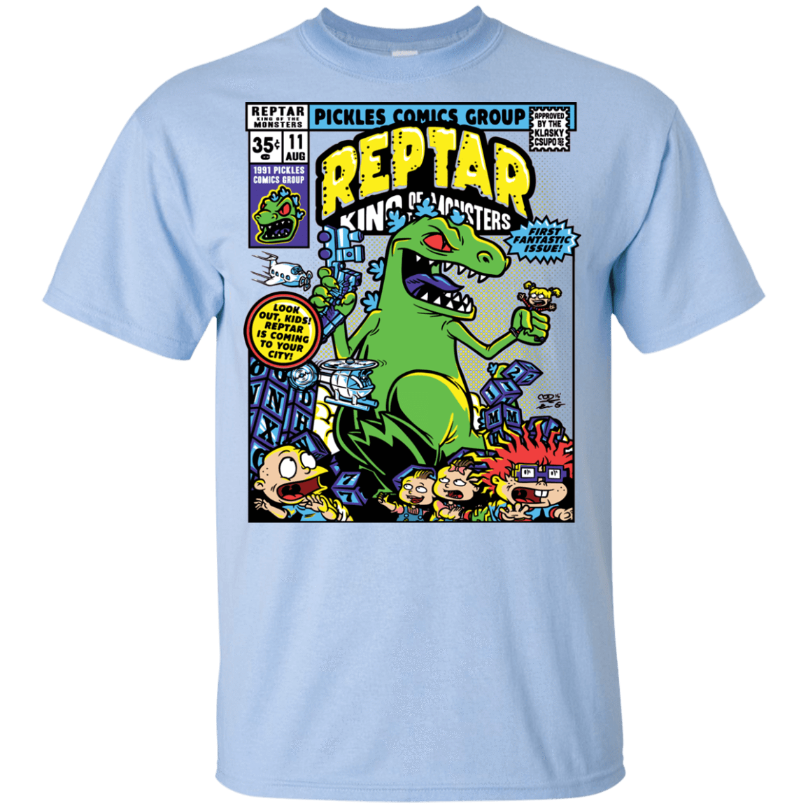 T-Shirts Light Blue / YXS REPTAR Youth T-Shirt