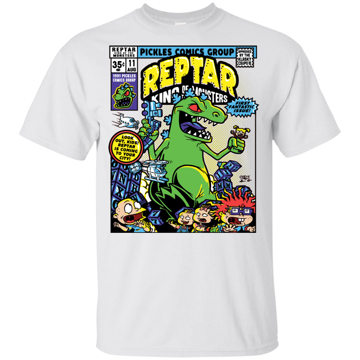 T-Shirts White / YXS REPTAR Youth T-Shirt
