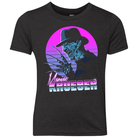 Retro Krueger Youth Triblend T-Shirt