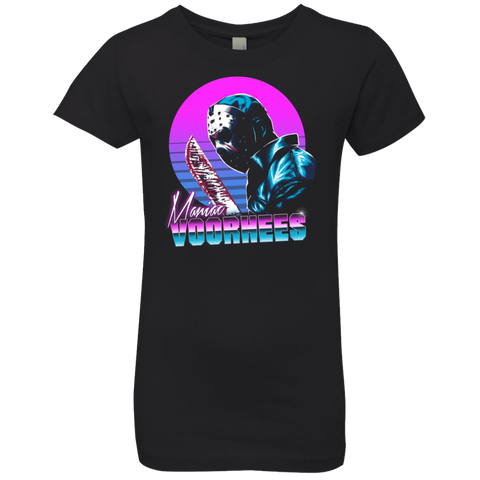 Retro Voorhees Girls Premium T-Shirt