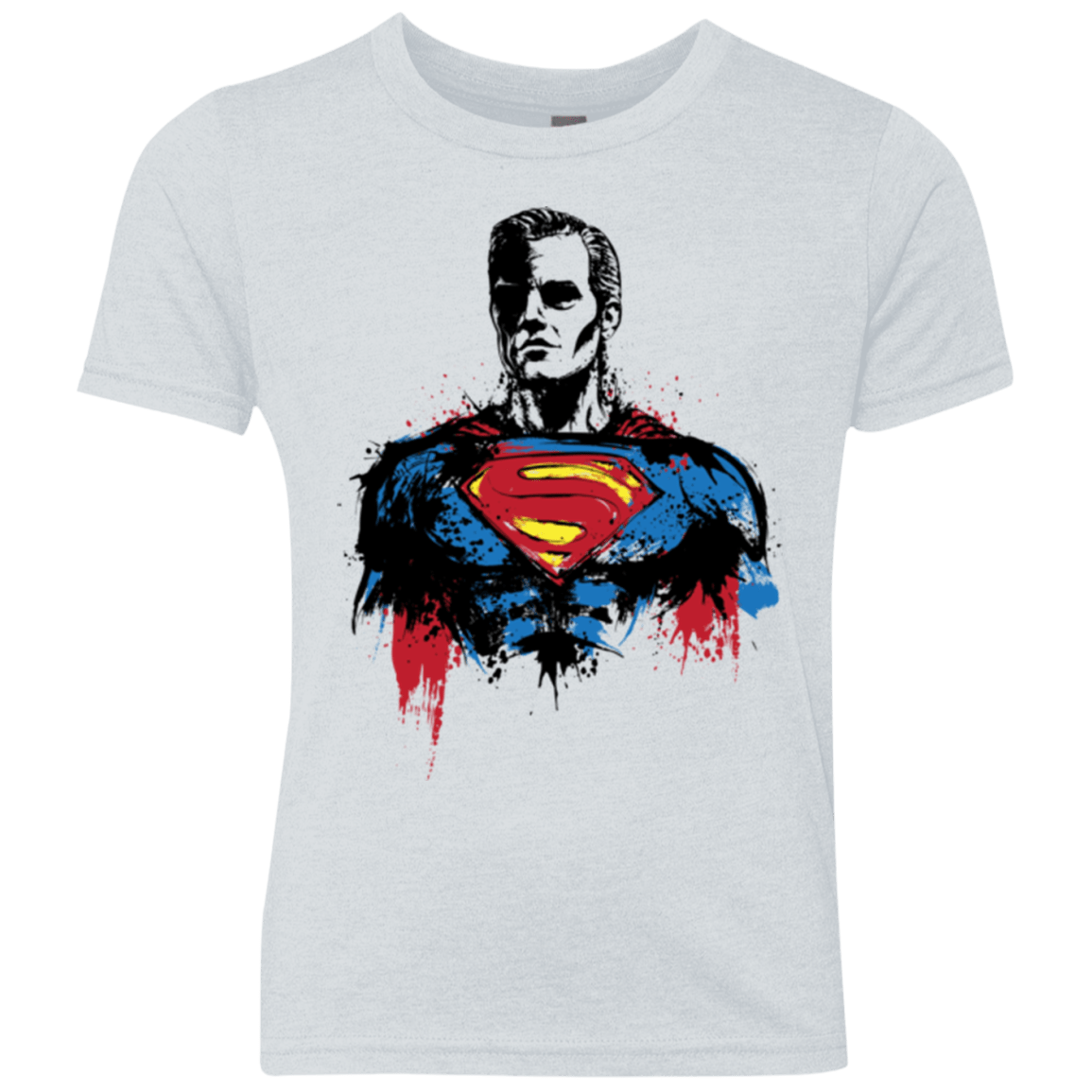 T-Shirts Heather White / YXS Return of Kryptonian Youth Triblend T-Shirt