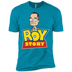 T-Shirts Turquoise / X-Small Roy Story Men's Premium T-Shirt