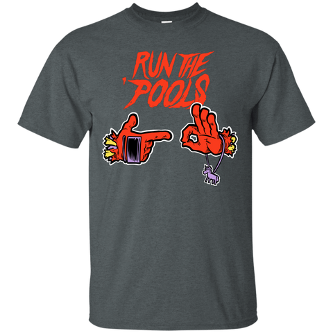 T-Shirts Dark Heather / S Run the Pools T-Shirt