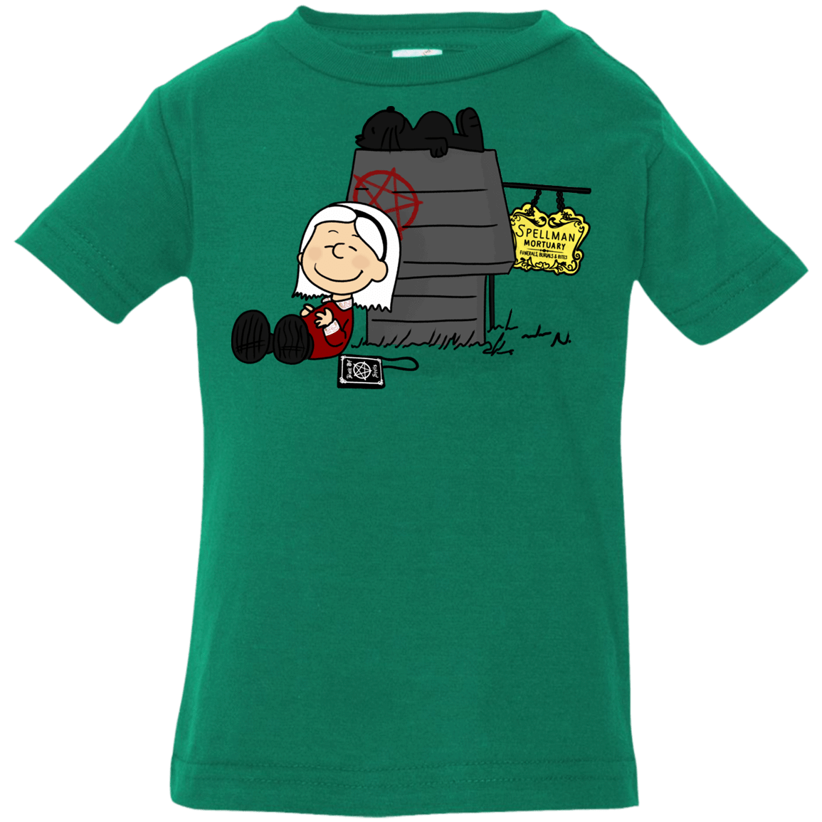 Sabrina Brown Infant Premium T-Shirt