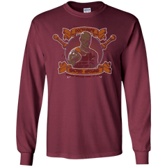 T-Shirts Maroon / S Sacred Ground Men's Long Sleeve T-Shirt