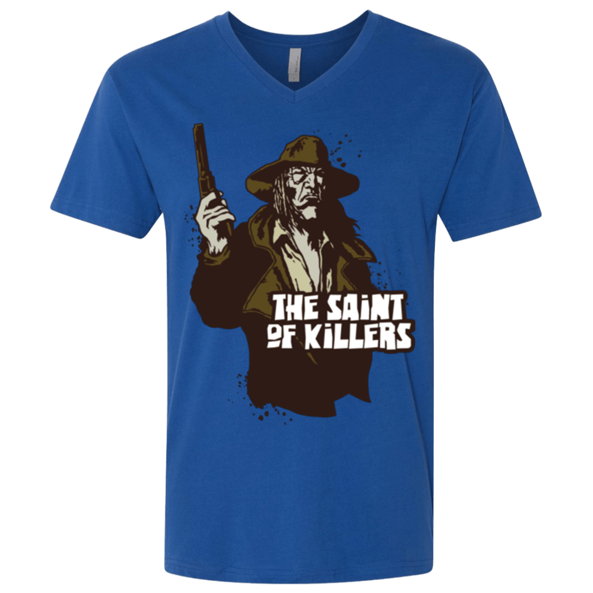T-Shirts Royal / X-Small Saint Of Killers Men's Premium V-Neck