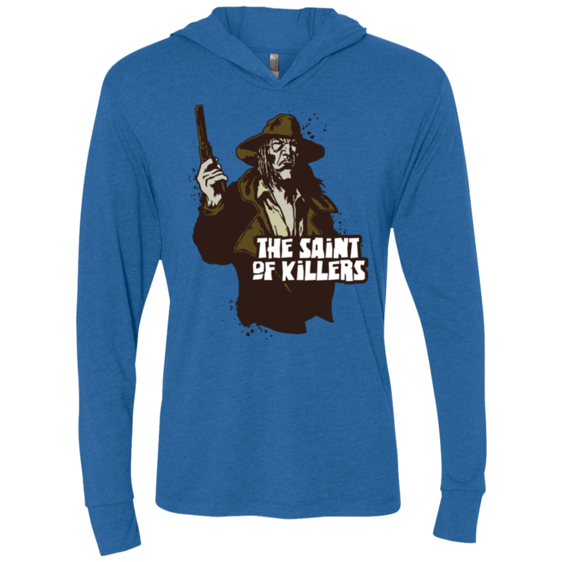 T-Shirts Vintage Royal / X-Small Saint Of Killers Triblend Long Sleeve Hoodie Tee
