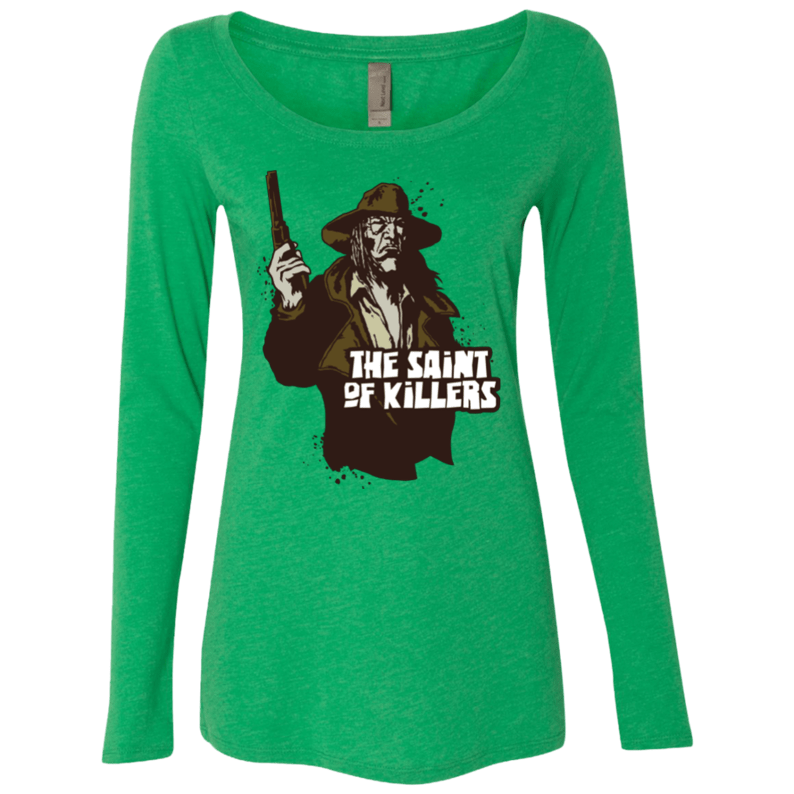 T-Shirts Envy / Small Saint Of Killers Women's Triblend Long Sleeve Shirt