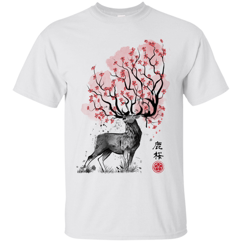 Sakura Deer T-Shirt