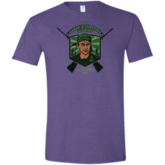 T-Shirts Heather Purple / S Sarges Survival Men's Semi-Fitted Softstyle