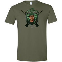 T-Shirts Military Green / S Sarges Survival Men's Semi-Fitted Softstyle
