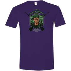 T-Shirts Purple / S Sarges Survival Men's Semi-Fitted Softstyle