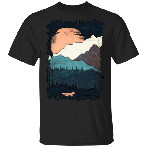Scenic Fox Mountains T-Shirt