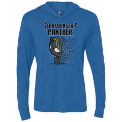 T-Shirts Vintage Royal / X-Small Schrodingers Panther Triblend Long Sleeve Hoodie Tee