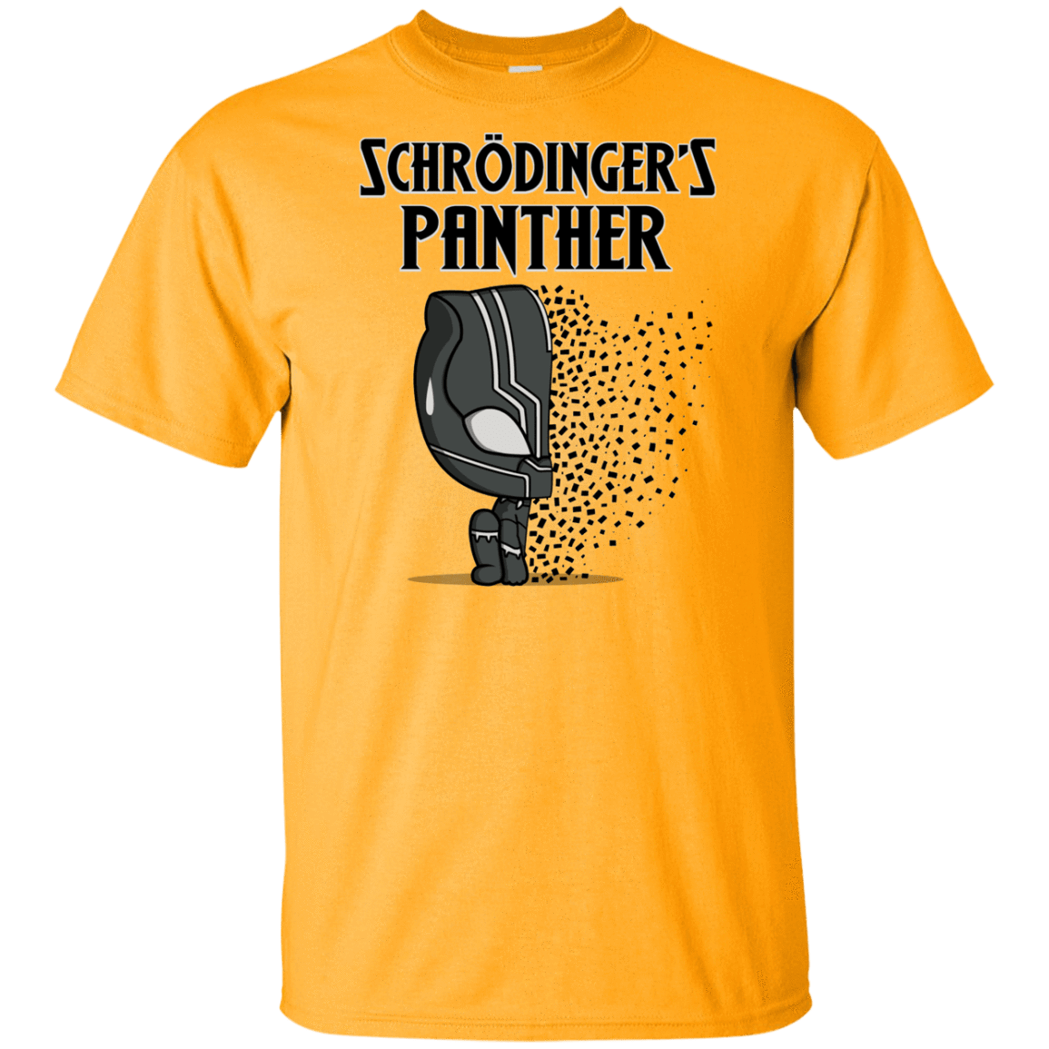 T-Shirts Gold / YXS Schrodingers Panther Youth T-Shirt