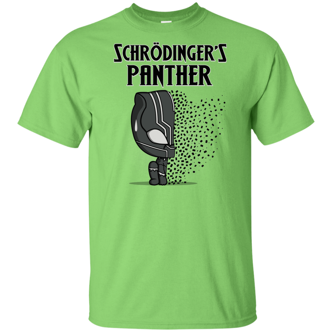 T-Shirts Lime / YXS Schrodingers Panther Youth T-Shirt