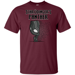 T-Shirts Maroon / YXS Schrodingers Panther Youth T-Shirt