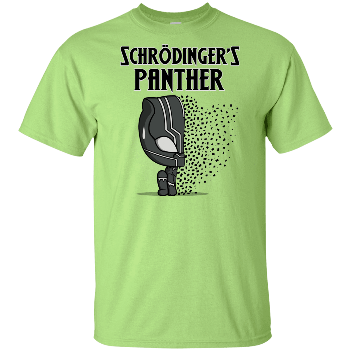 T-Shirts Mint Green / YXS Schrodingers Panther Youth T-Shirt