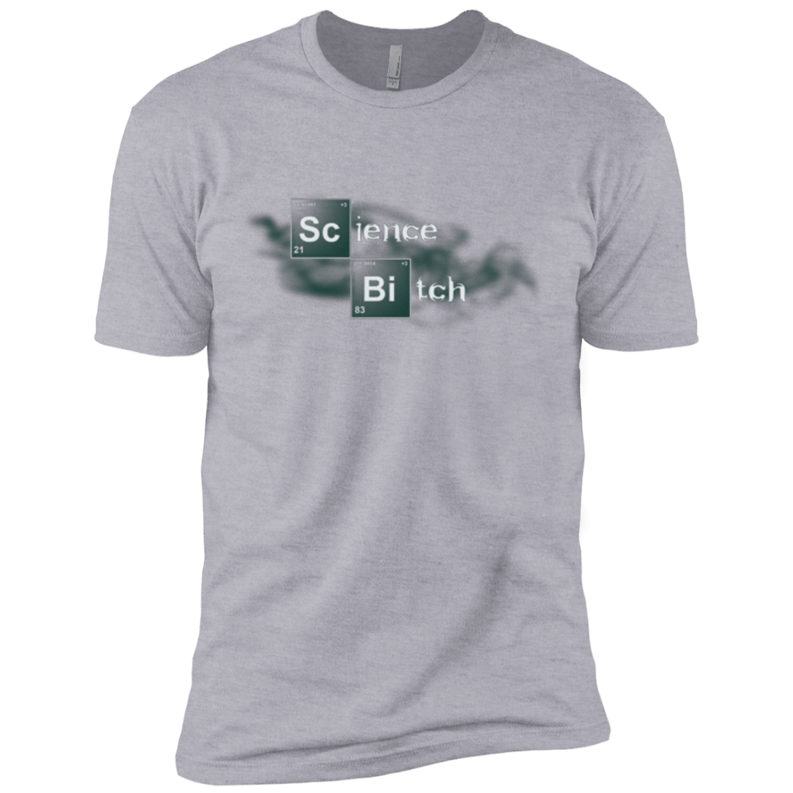 T-Shirts Heather Grey / X-Small Science Bitch Men's Premium T-Shirt