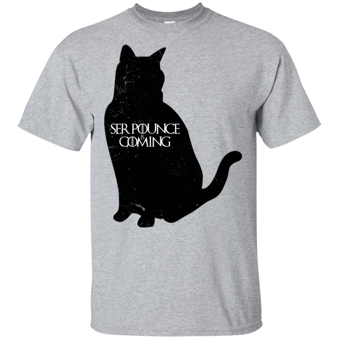 Ser Pounce is Coming T-Shirt