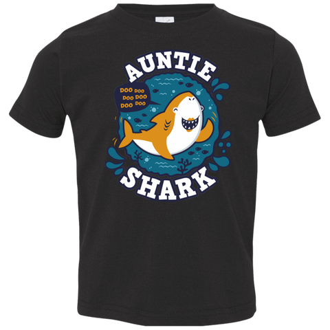 Shark Family Trazo - Auntie Toddler Premium T-Shirt