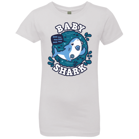 Shark Family trazo - Baby Boy chupete Girls Premium T-Shirt
